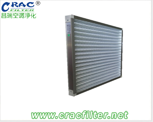 Washable Aluminum Metal  Pleated Pre-filter