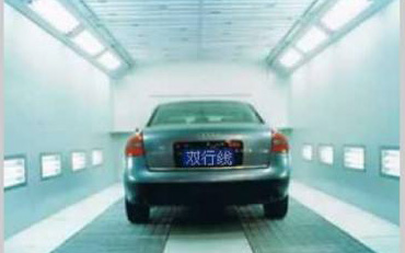Automotive coating air filtration
